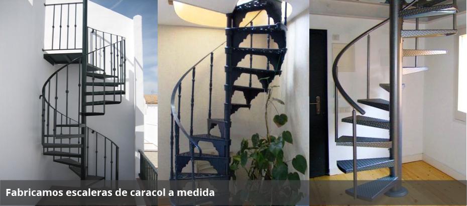 Escalera de caracol metalboix estructuras met licas - La escalera de caracol ...